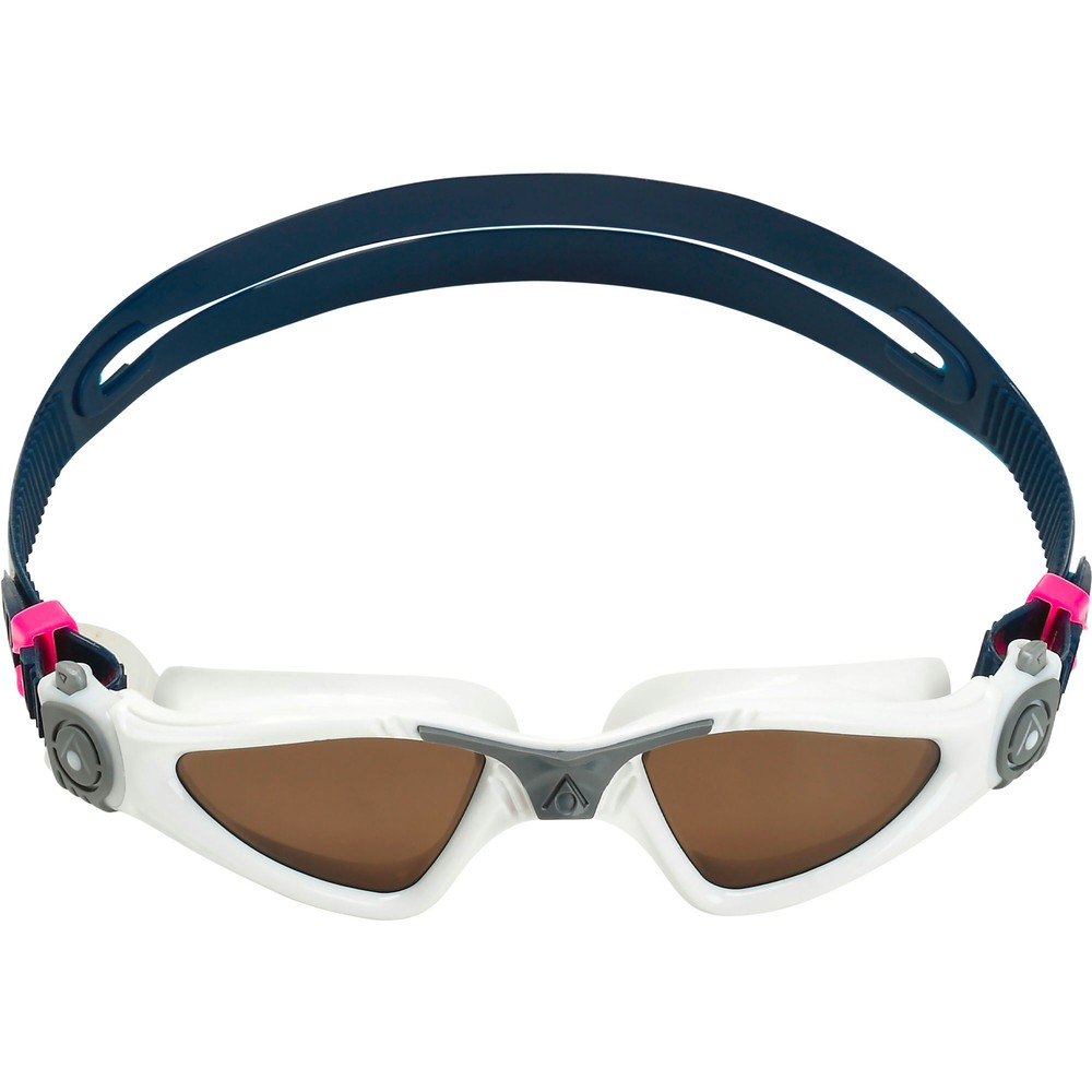 Aqua Sphere Kayenne Compact Fit Goggles With Polarised Brown Lenses