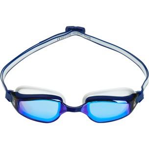 Aqua Sphere Fastlane Goggles With Blue Titanium Mirror Lenses