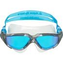 Aqua Sphere Vista Swim Mask With Blue Titanium Mirror Lenses