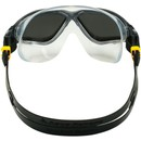 Aqua Sphere Vista Swim Mask With Silver Mirror Lenses