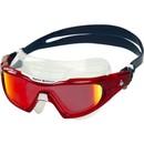 Aqua Sphere Vista Pro Swim Mask With Red Titanium Mirror Lens