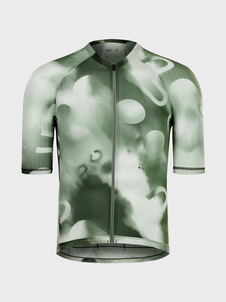 Spectrum Light Men's Short Sleeve Jersey Canopy Green