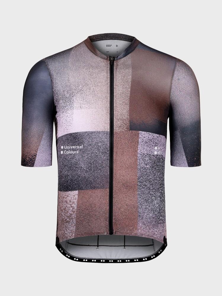 Spectrum Cubic Men's Short Sleeve Jersey Brown