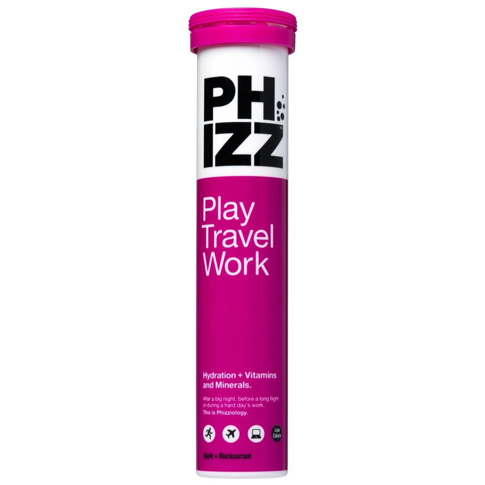 Phizz Multivitamin And Hydration Tablets (10 Tabs) 6 Pack