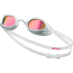 Nike Legacy Goggles With Polarized Pink Mirror Lens