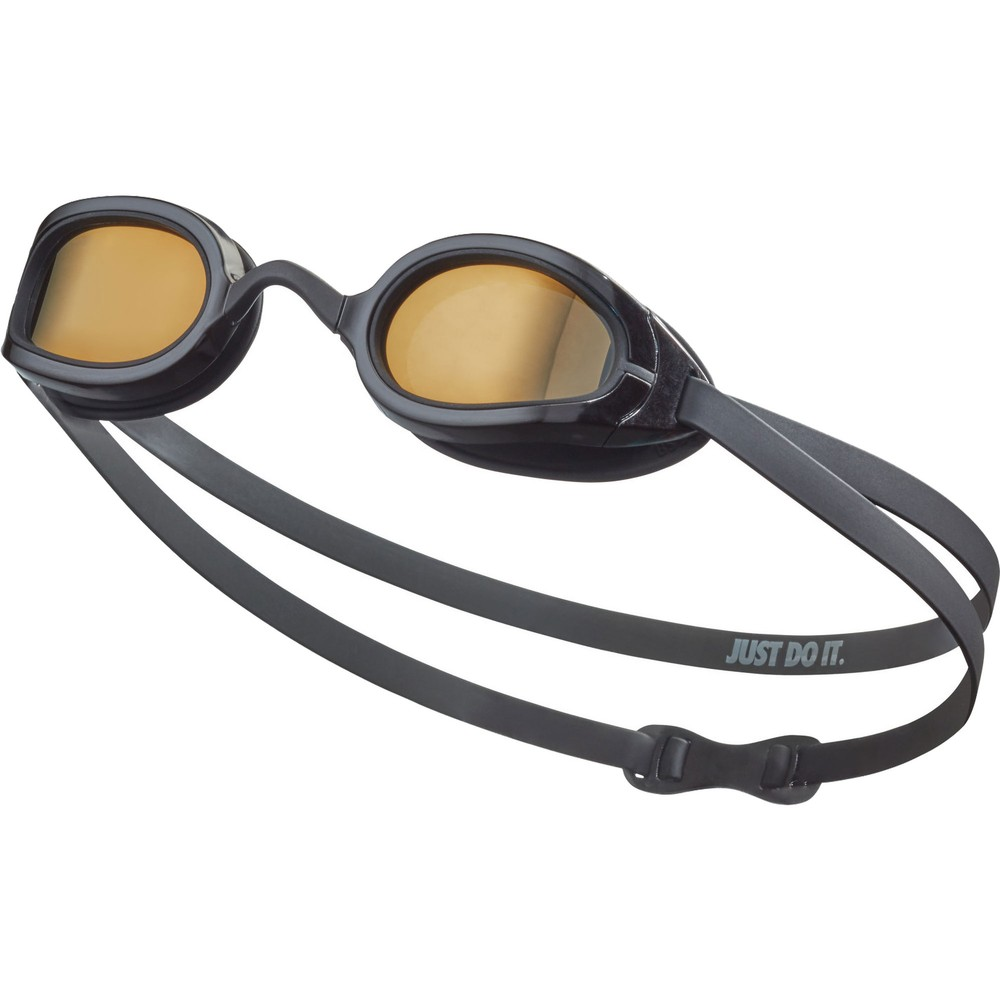 Nike Legacy Goggles With Polarized Gold Mirror Lens