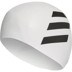 Adidas Silicone Three Stripe Swim Cap
