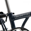 Brompton S6L Folding Bike With Mudguards & Front Carrier Block