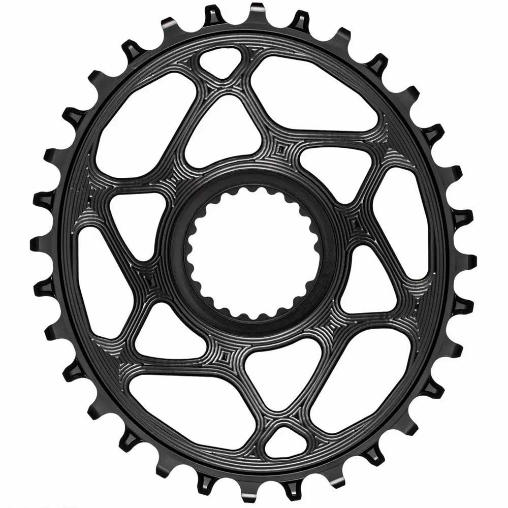 AbsoluteBLACK Shimano MTB Oval Direct Mount Chainring