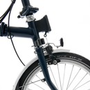 Brompton M6L Folding Bike With Mudguards & Front Carrier Block 2021
