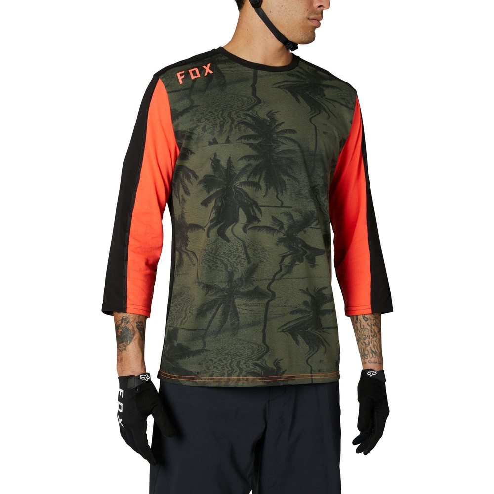 Fox Racing Permanent Vacation Ranger DR 3/4 Sleeve Jersey