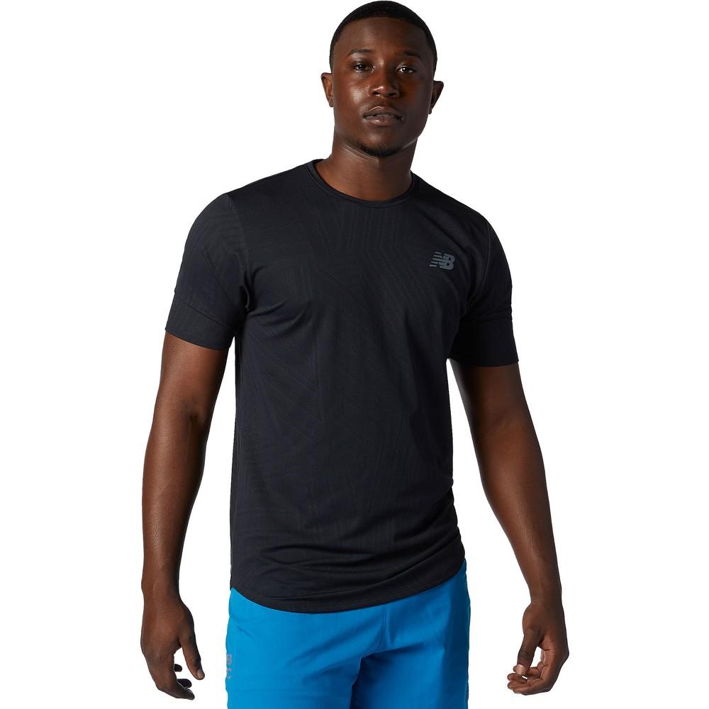 New Balance Q Speed Fuel Jacquard Short Sleeve Running Shirt