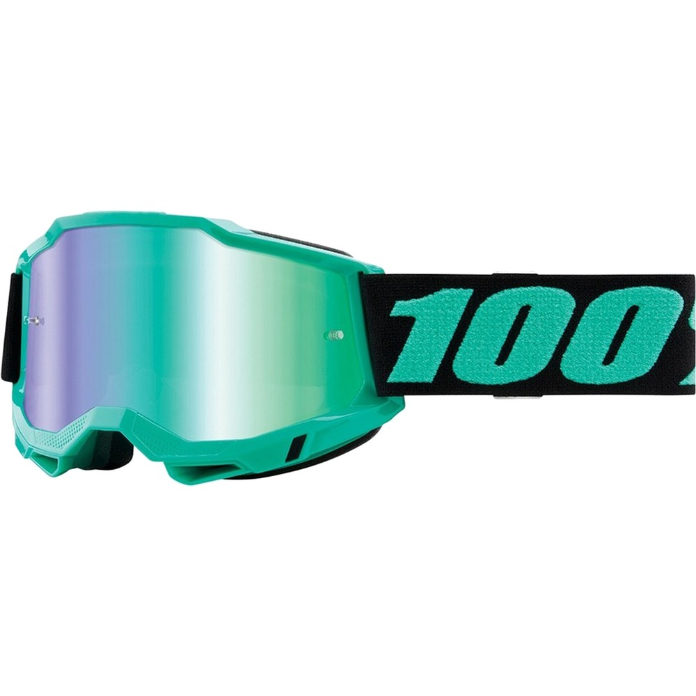 100% ACCURI 2 Goggles With Mirror Green Lens