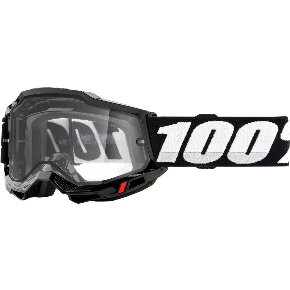 100% ACCURI 2 Enduro MTB Goggles With Clear Lens