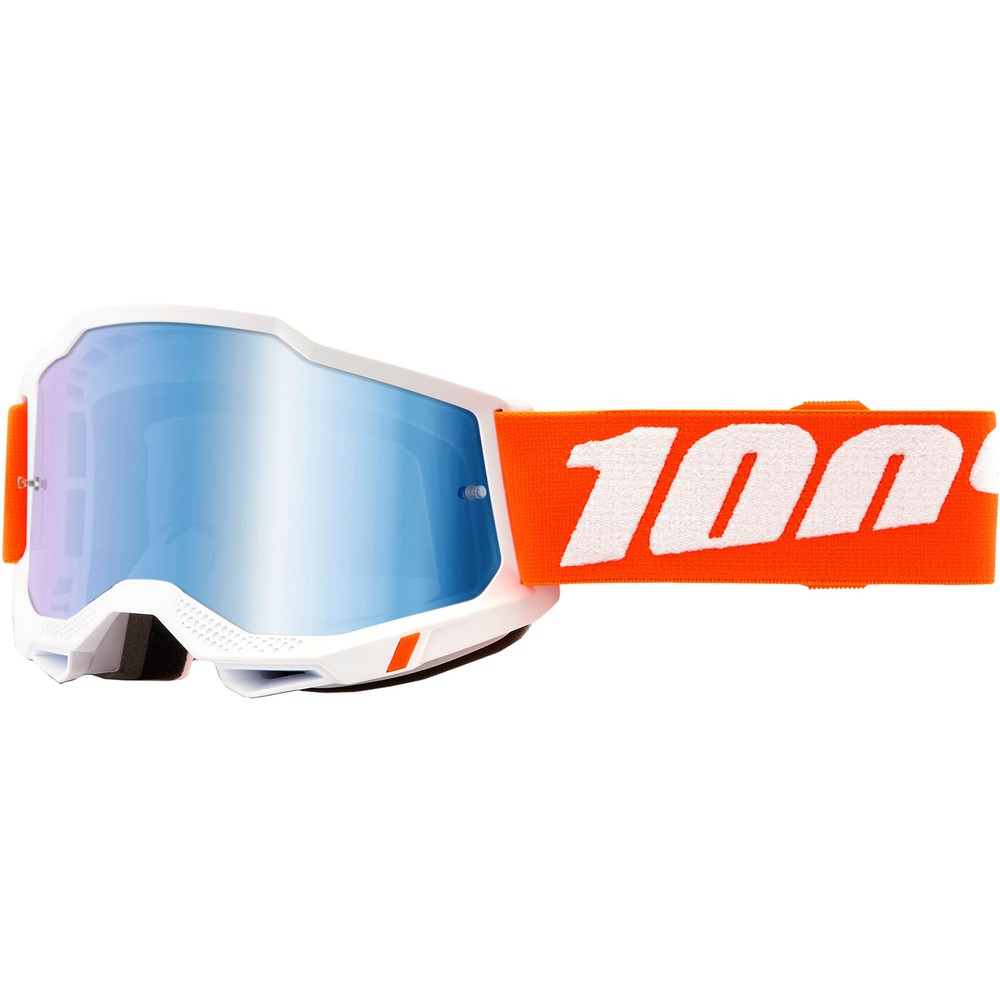 100% ACCURI 2 Goggles With Blue Mirror Lens
