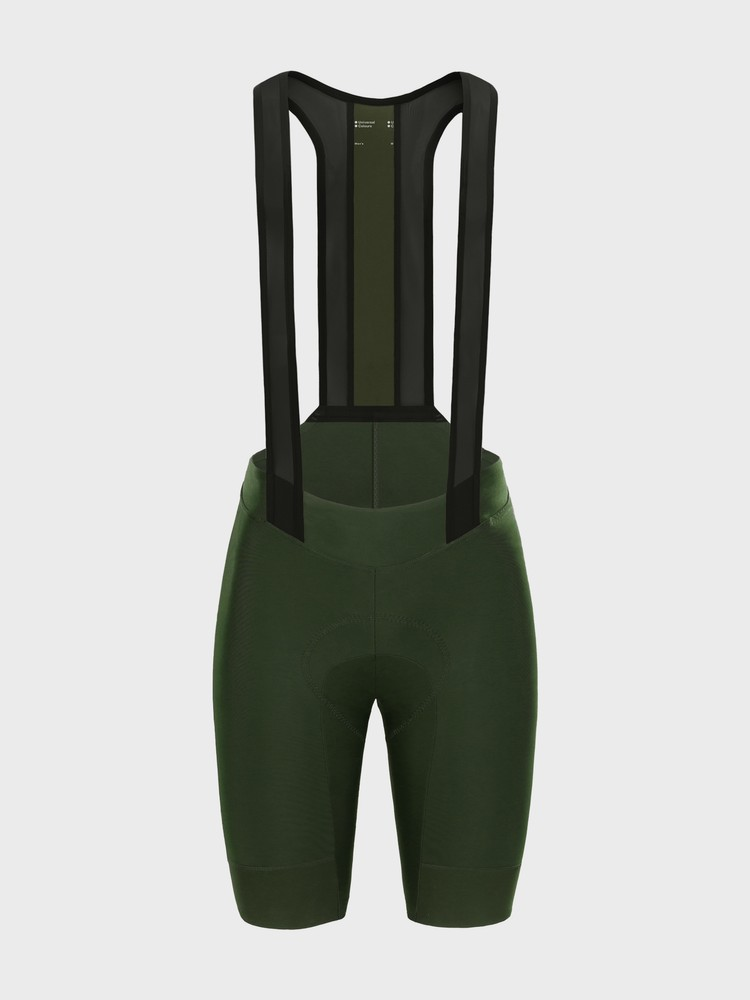 Mono Men's Bib Short Canopy Green