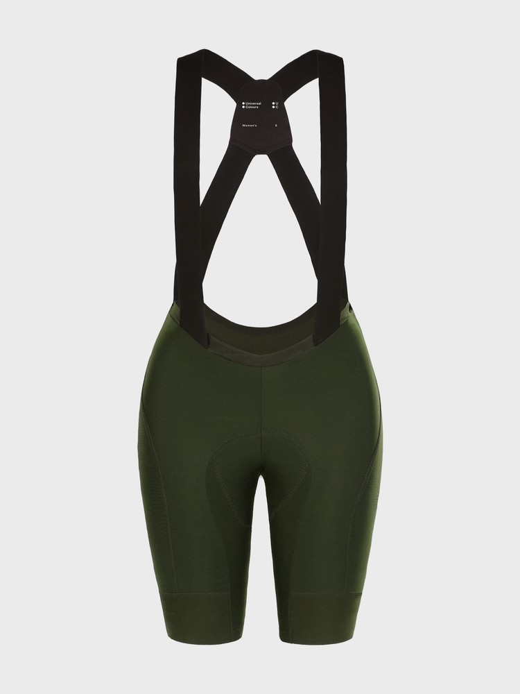 Mono Women's Bib Short Canopy Green