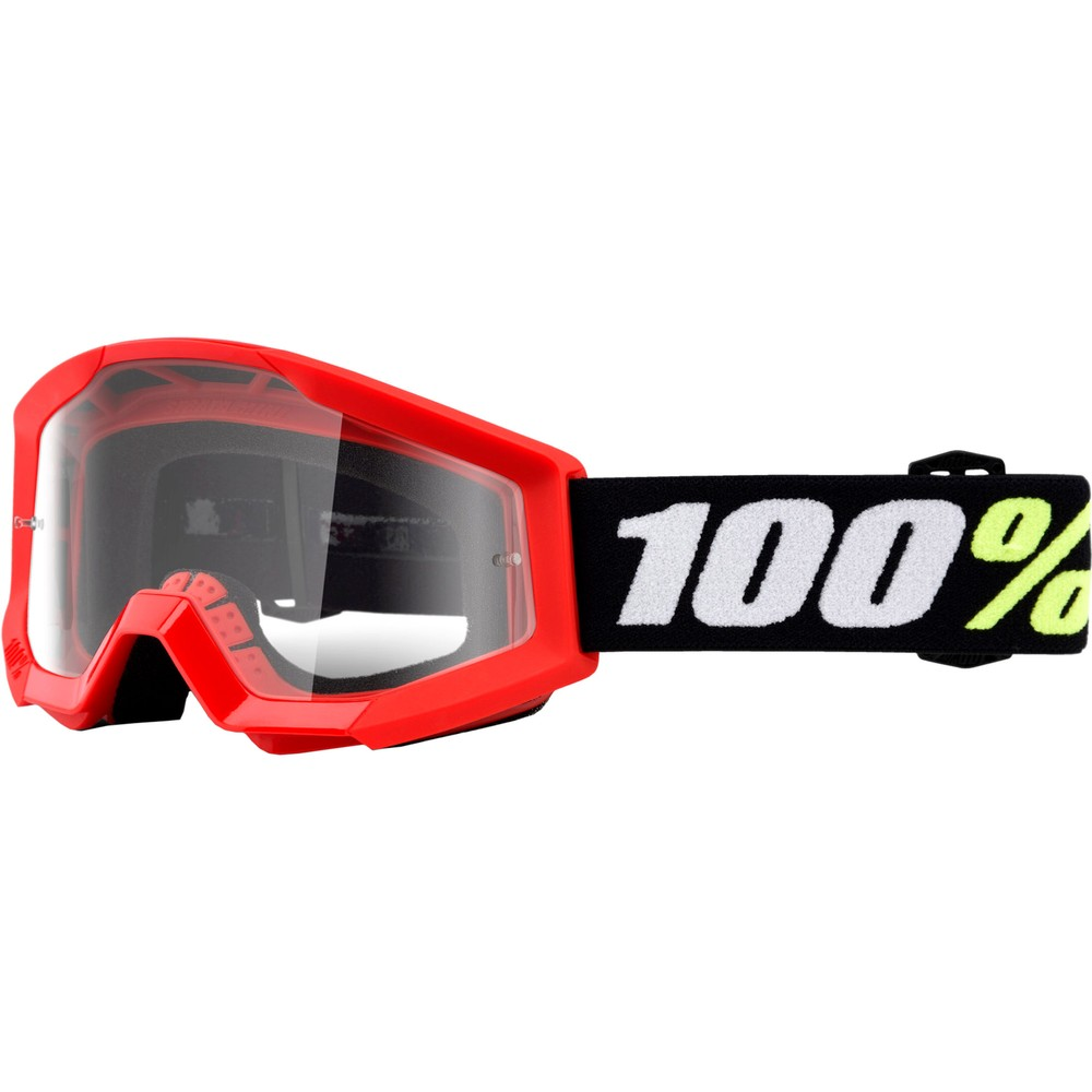 100% STRATA MINI Goggles With Clear Lens