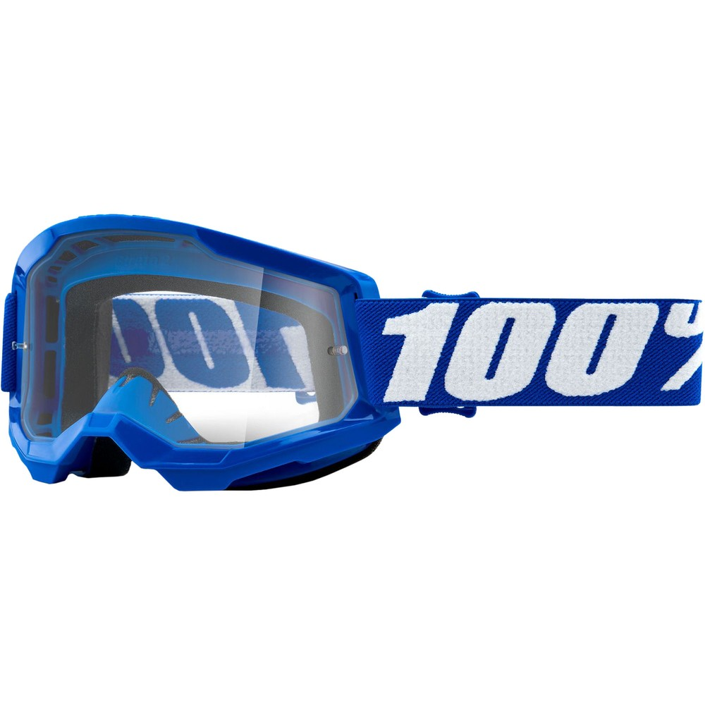 100% STRATA 2 Goggles With Clear Lens