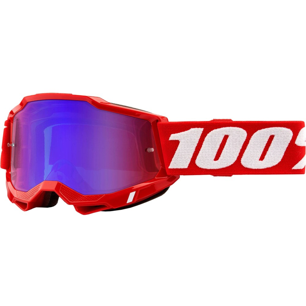 100% ACCURI 2 Goggles With Red/Blue Mirror Lens