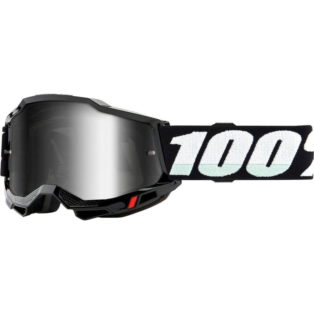100% ACCURI 2 Goggles With Silver Mirror Lens
