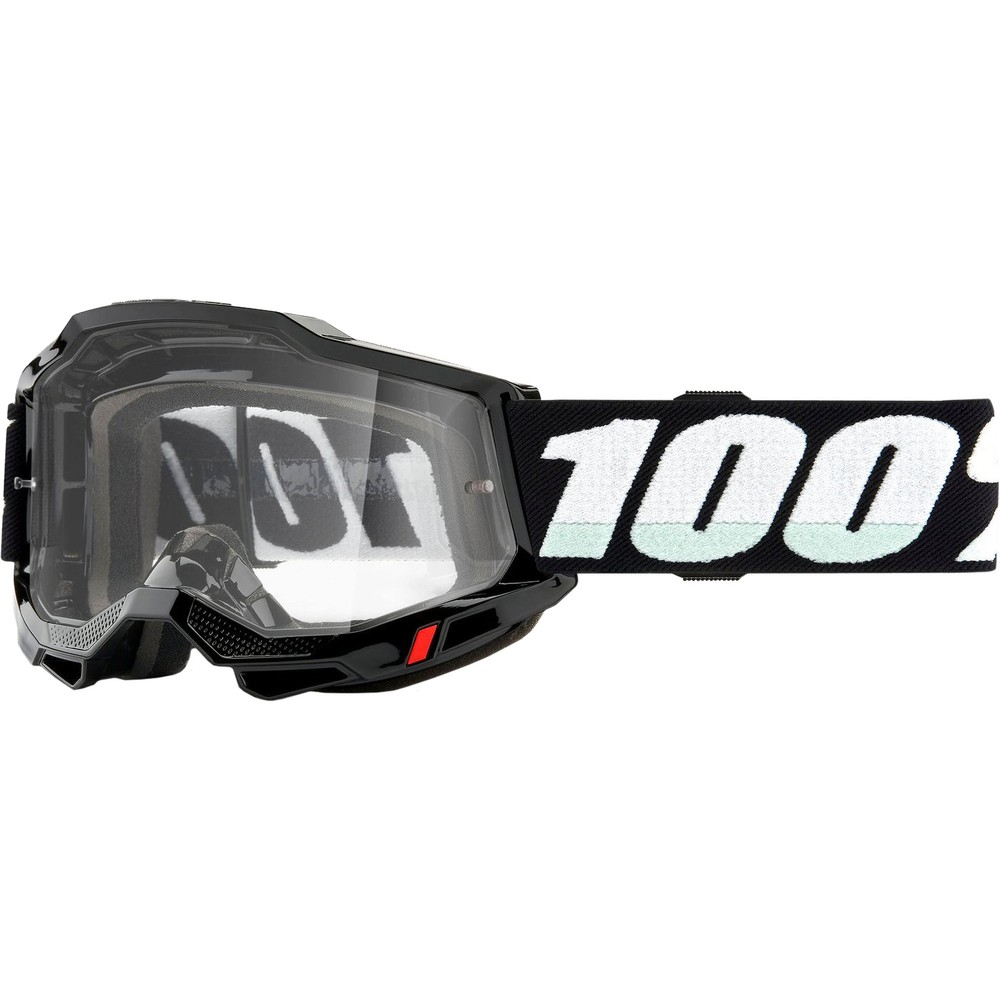 100% ACCURI 2 Goggles With Clear Lens