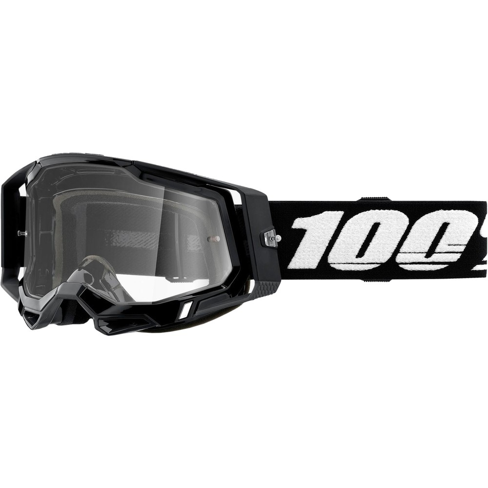 100% RACECRAFT 2 Goggles With Clear Lens