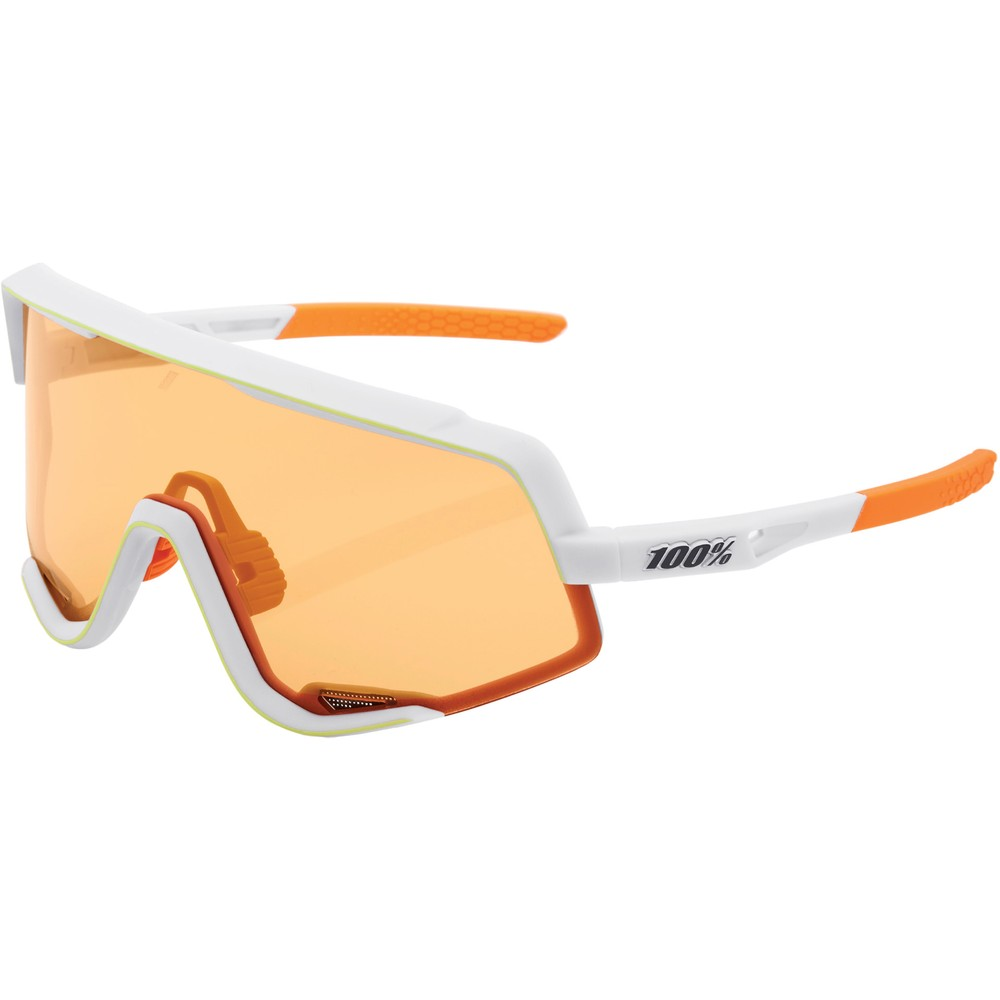 100% Glendale Sunglasses With Persimmon Lens