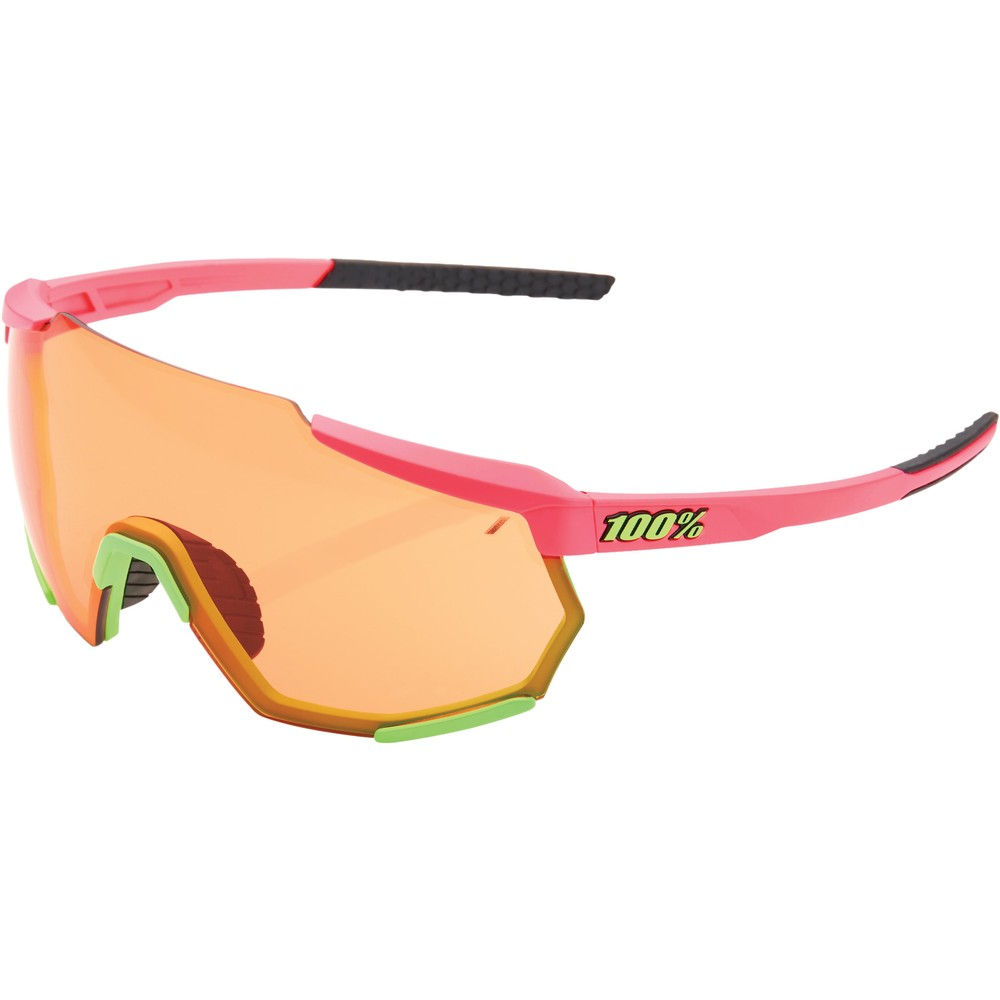 100% Racetrap Sunglasses With Persimmon Lens