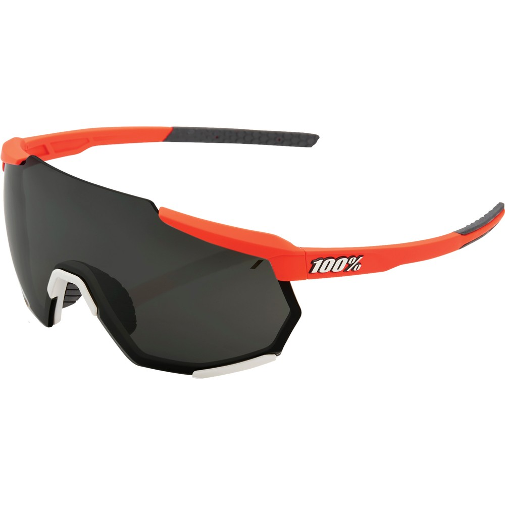 100% Racetrap Sunglasses With Black Mirror Lens