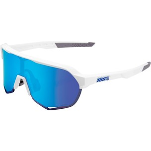 100% S2 Sunglasses With HiPER Blue Multilayer Mirror Lens