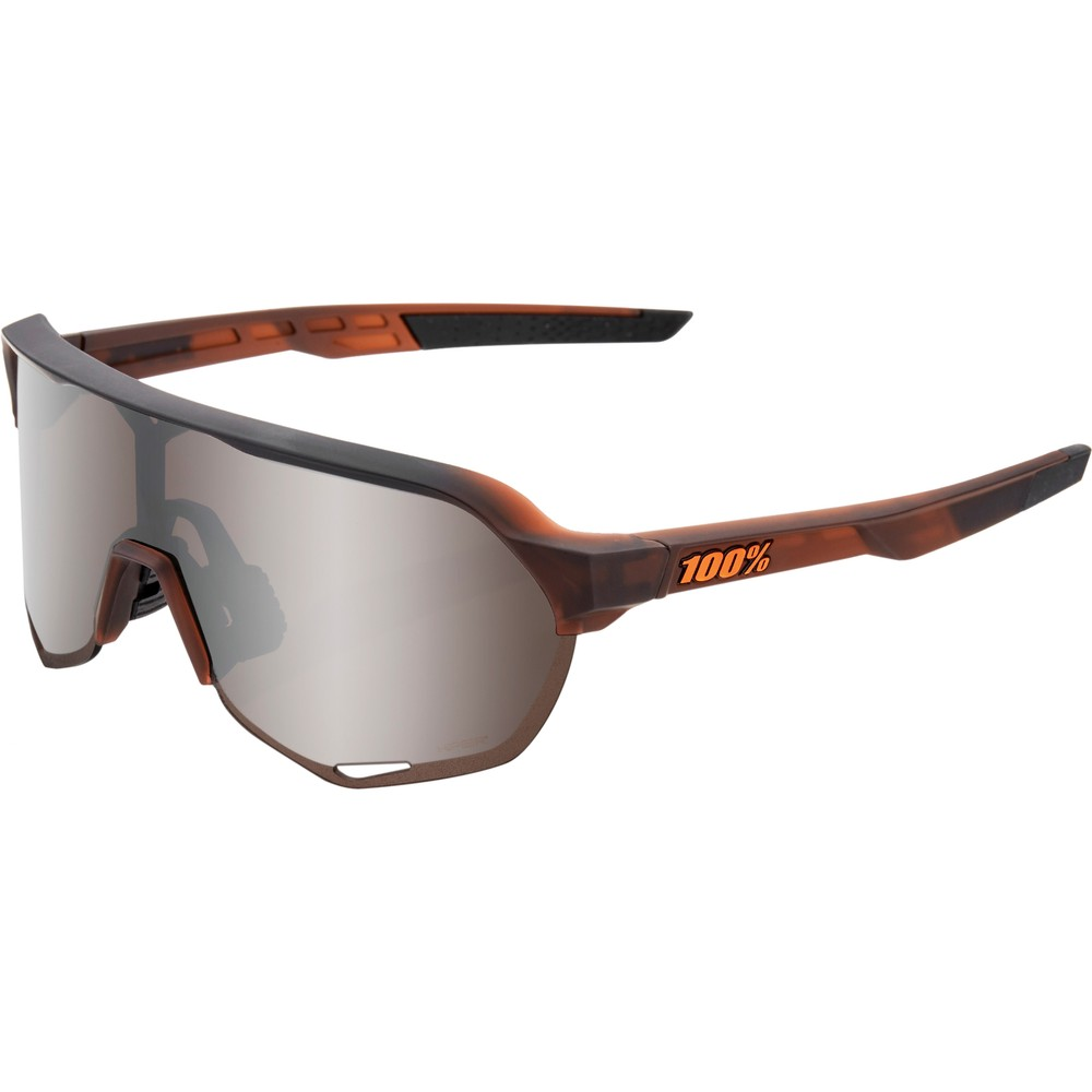 100% S2 Sunglasses With HiPER Silver Mirror Lens