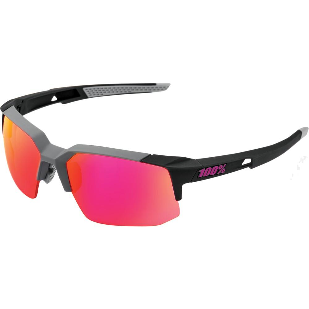 100% Speedcoupe Sunglasses With Purple Mirror Lens
