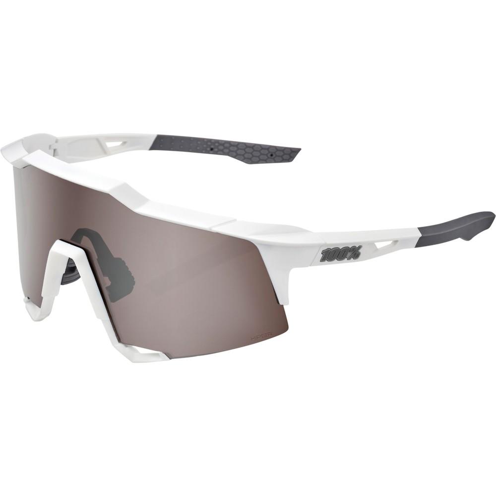 100% Speedcraft Sunglasses With HiPER Silver Mirror Lens