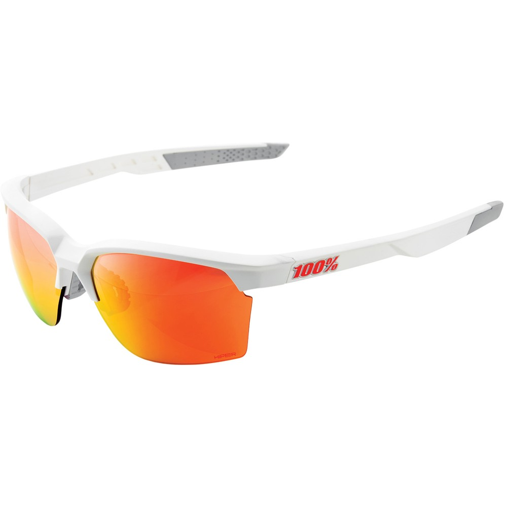 100% Sportcoupe Sunglasses With HiPER Red Mirror Lens