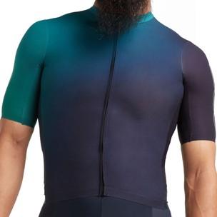 Black Sheep Cycling Racing Climbers Ombre Short Sleeve Jersey
