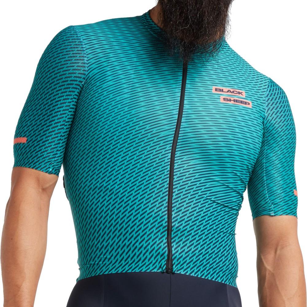 Black Sheep Cycling Racing Aero Slash Short Sleeve Jersey