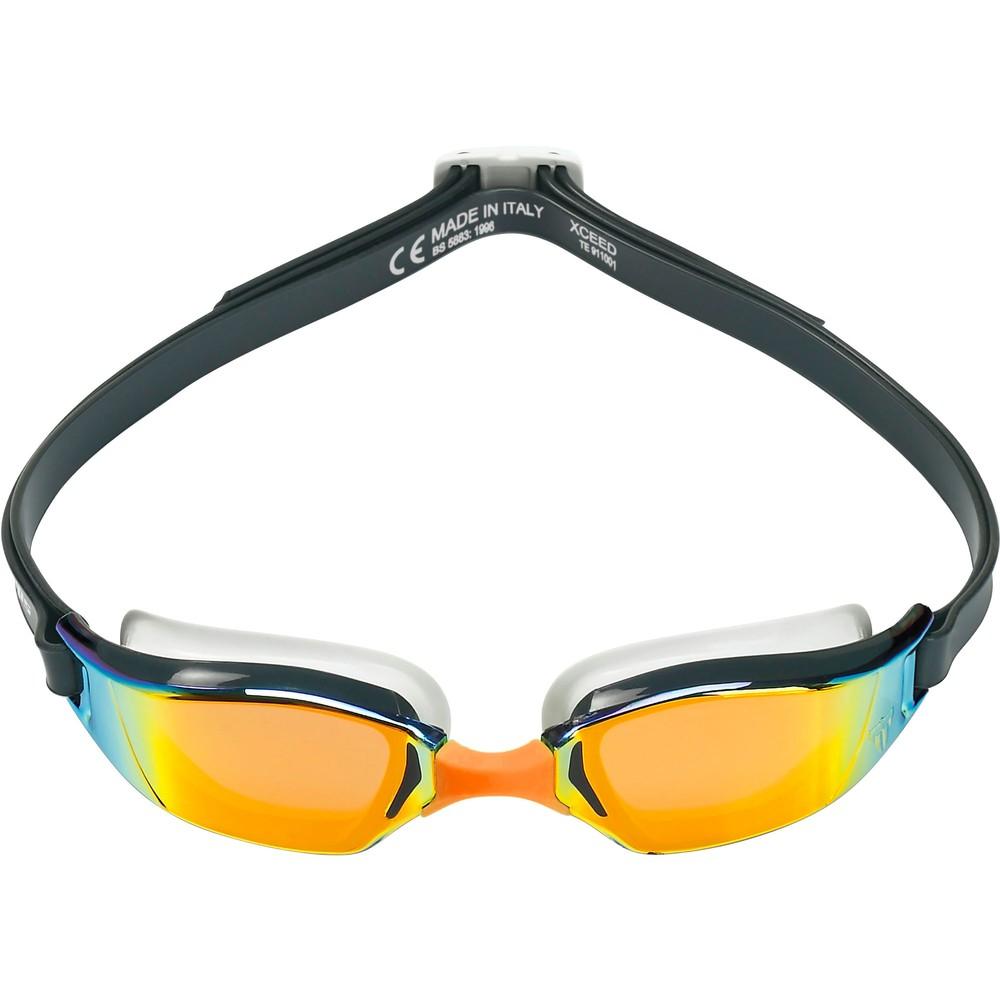 PHELPS XCEED Goggles With Orange Titanium Mirror Lenses