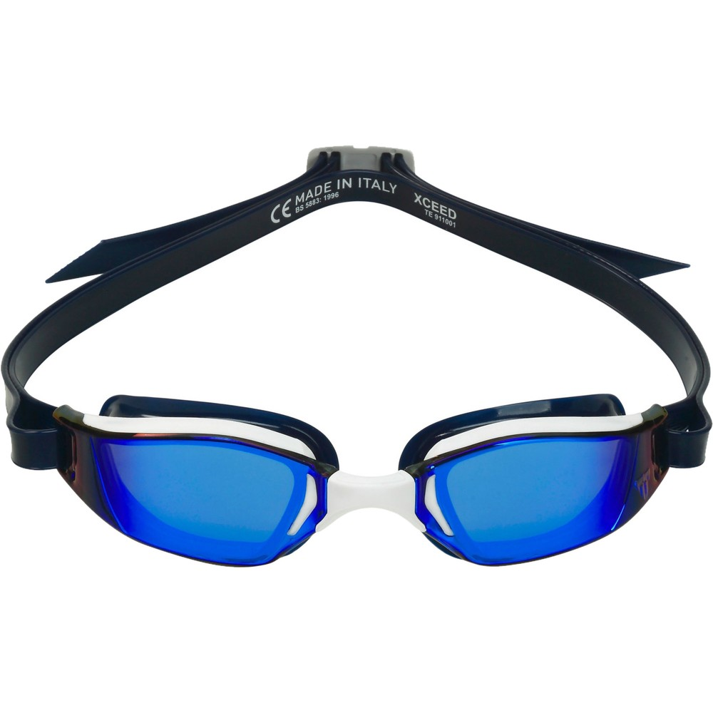 PHELPS XCEED Goggles With Blue Iridescent Titanium Mirror Lenses