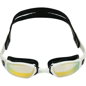 PHELPS Ninja Goggles With Gold Titanium Mirror Lenses