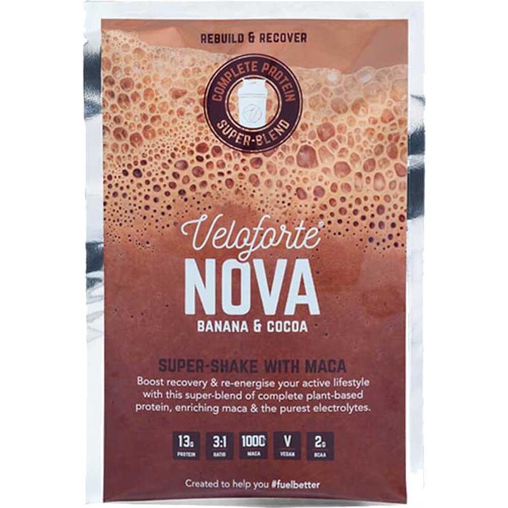 Veloforte Nova Vegan Protein Recovery Shake 12 X 62.5g Box