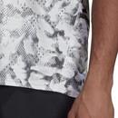 Adidas Fast AOP Graphic Short Sleeve Running Tee