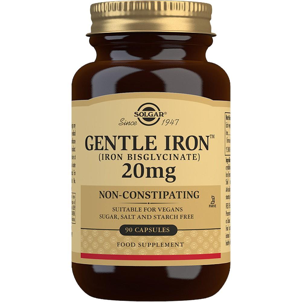 Solgar Gentle Iron 20mg - 90 Tablets