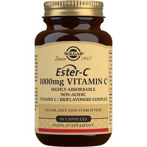 Solgar Ester-C 1000mg Vitamin C - 90 Tablets