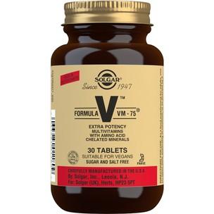 Solgar Formula VM-75 - 30 Tablets