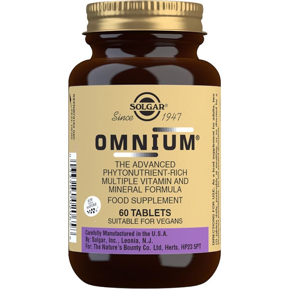 Solgar Omnium - 60 Tablets
