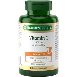 Natures Bounty Vitamin C 1000mg With Rose Hips - 60 Tablets