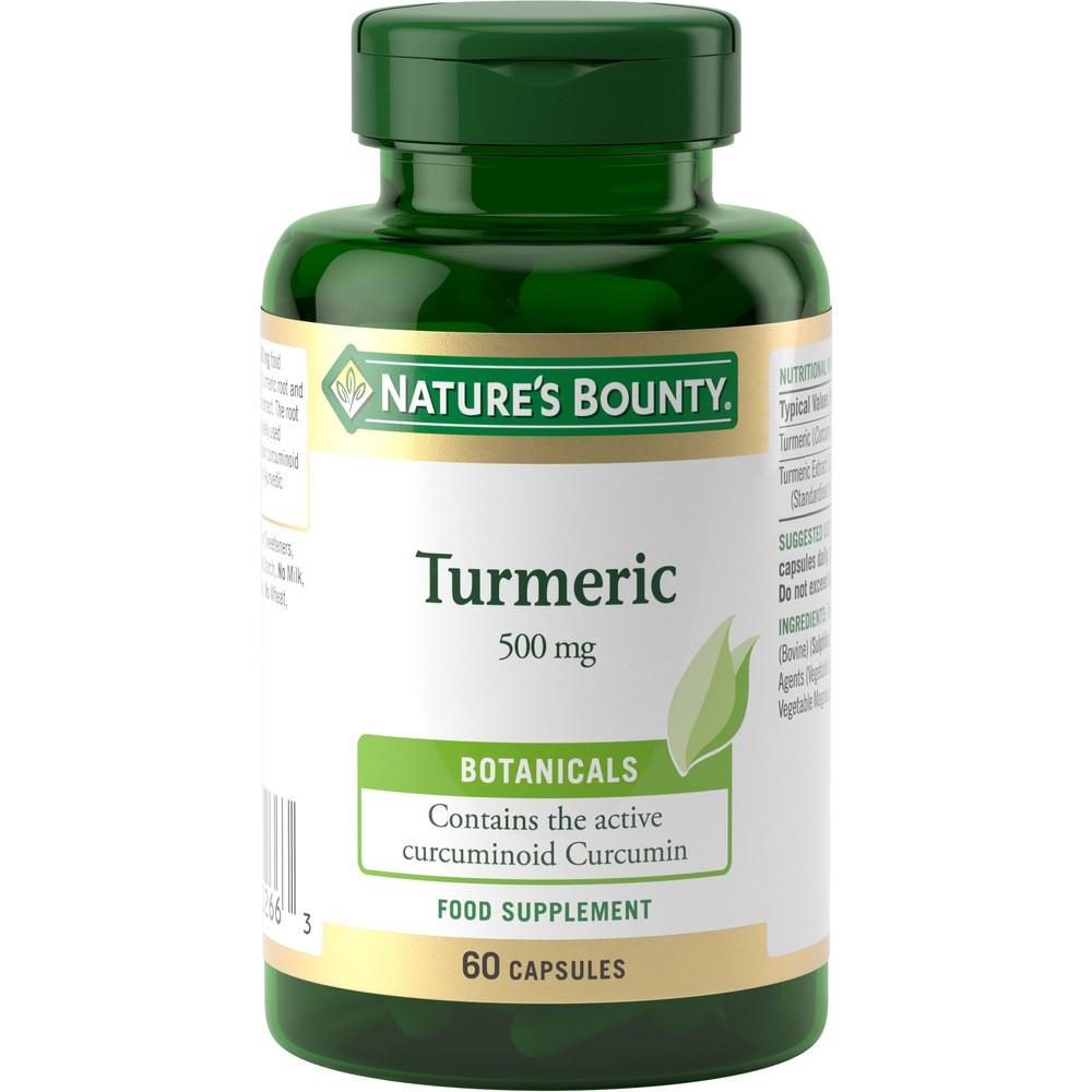 Natures Bounty  Tumeric 500mg - 60 Tablets