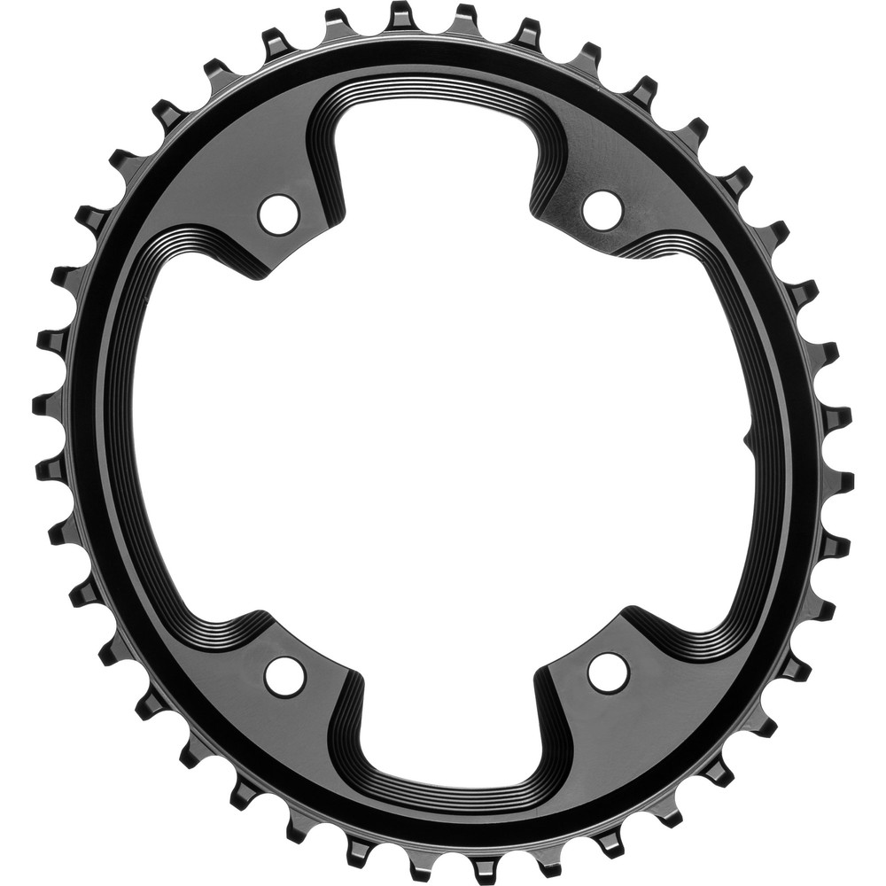 AbsoluteBLACK Oval 110BCD 4 Hole 1x Chainring