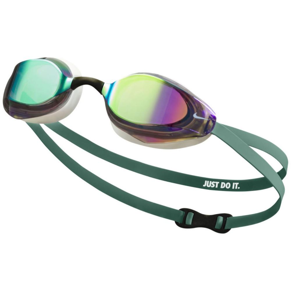 Nike Vapor Goggles With Green Mirror Lens